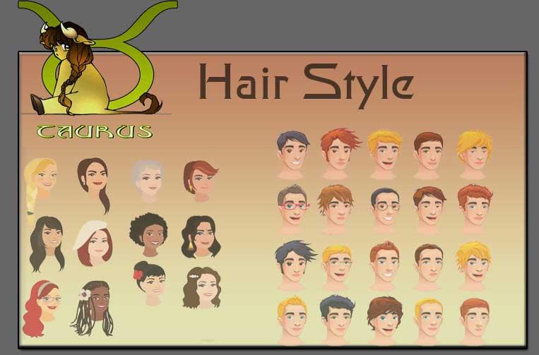 Taurus, Hairstyles Zodiac taurus Sign